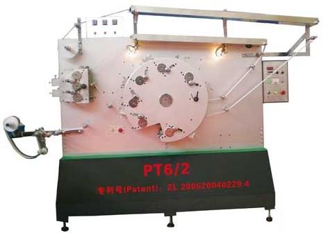 PT 6/2 六正两反八色双面布标柔性版印刷机