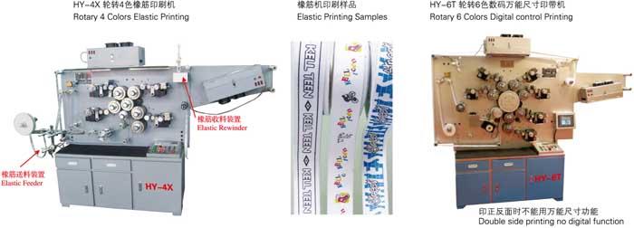 HY-7B高速轮转布质商标印刷机