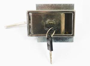 不銹鋼拉扣廚門鎖