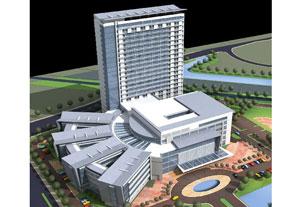 苏州中医院综合大楼
