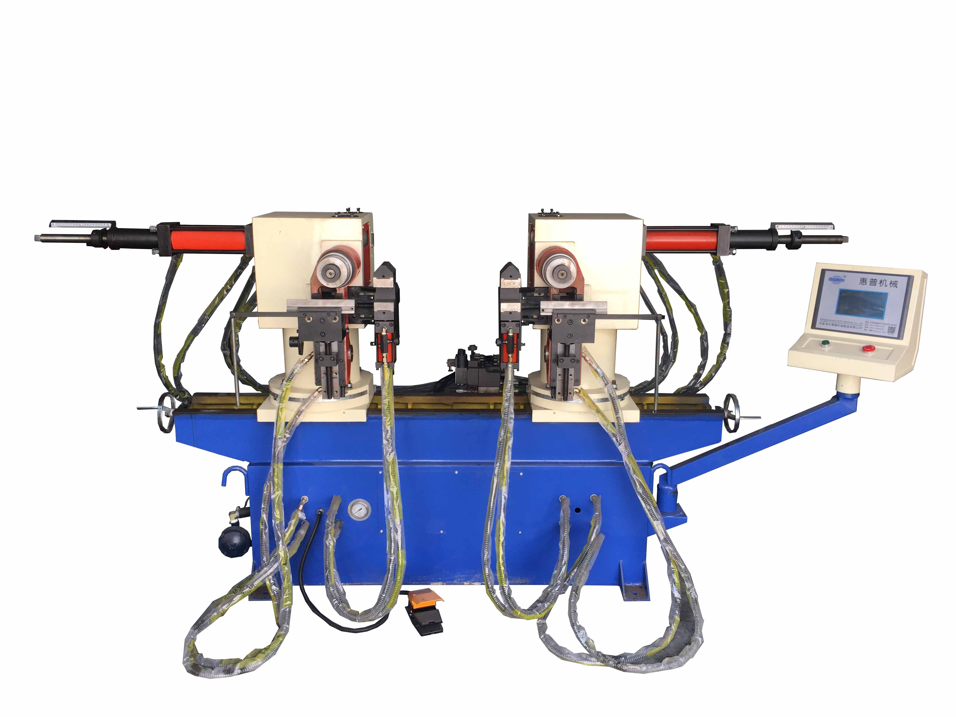 液压双头弯管机SW38