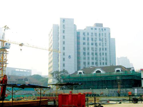 上海瑞金医院综合楼桩基测试