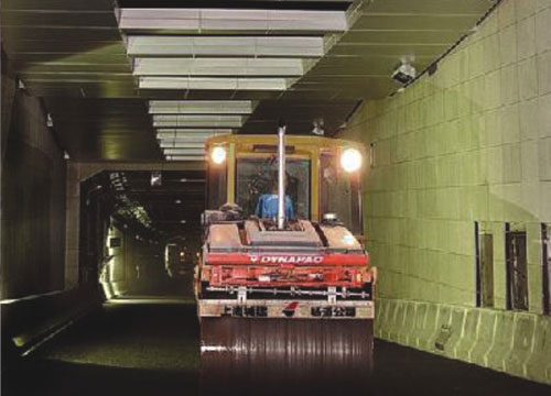 人民路越江隧道盾构推进施工测量