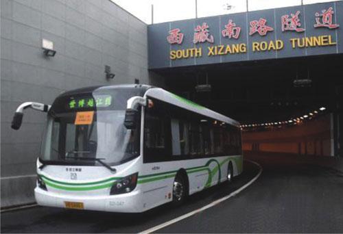 西藏路隧道监理轴线复测