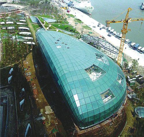 上海港国际客运中心客运码头水上工程测量