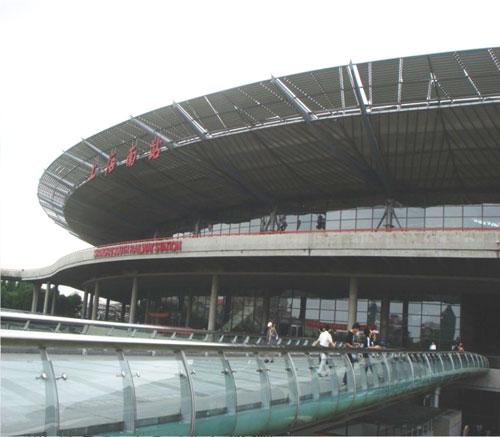 铁路上海南站南广场联合售票大楼人行地下通道基坑工程施工监测