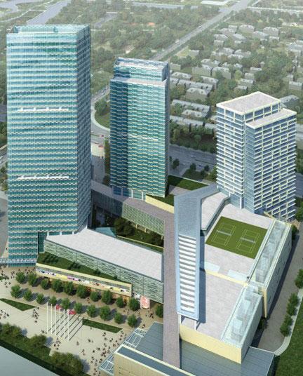浦东嘉里城项目基坑监测