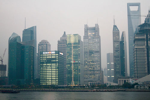 上海陆家嘴金融大厦基坑监测