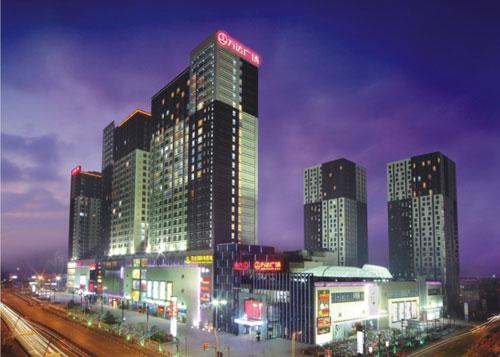 周浦万达广场建筑物沉降监测