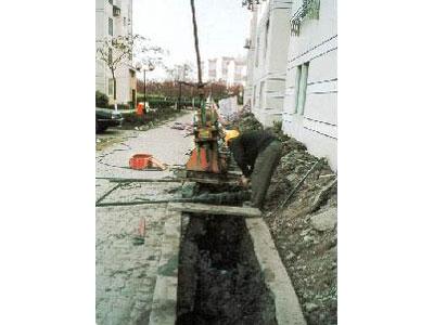 御桥某住宅楼发生偏斜采用钻孔取土法进行迫降纠偏