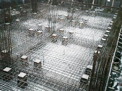 圣淘沙大酒店2#楼桩基逆作施工时预留孔全景图