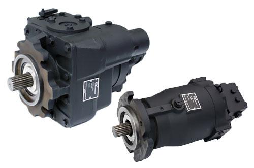 20-24系列通轴型轴向柱塞泵/马达