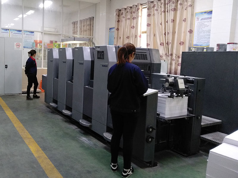 海德堡6开4色印刷机