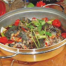 干锅童子甲鱼