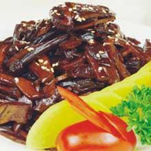 茶树菇烤笋