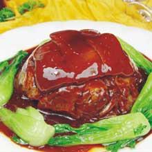 红烧扣羊肉
