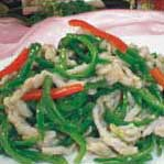 尖椒炒羊肉丝