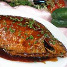 红烧千岛湖扁鱼
