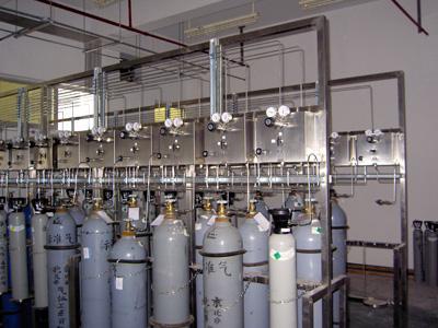 气瓶室供气系统