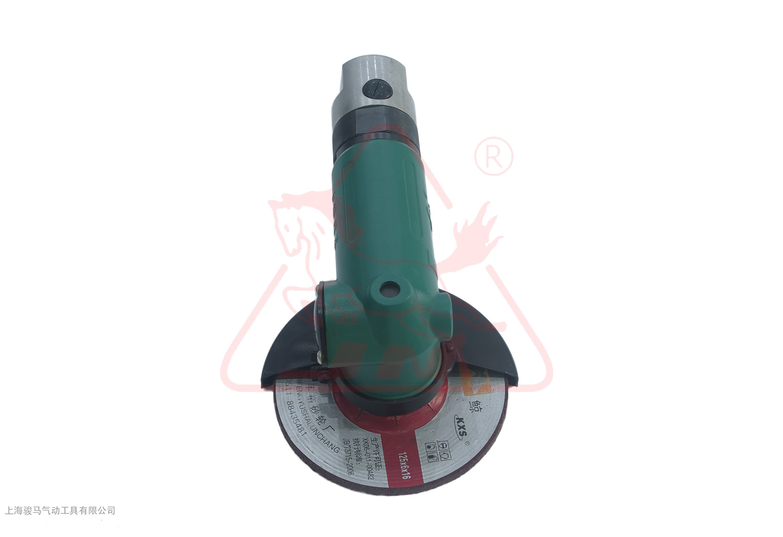 S125-90°开启把式气动角磨机