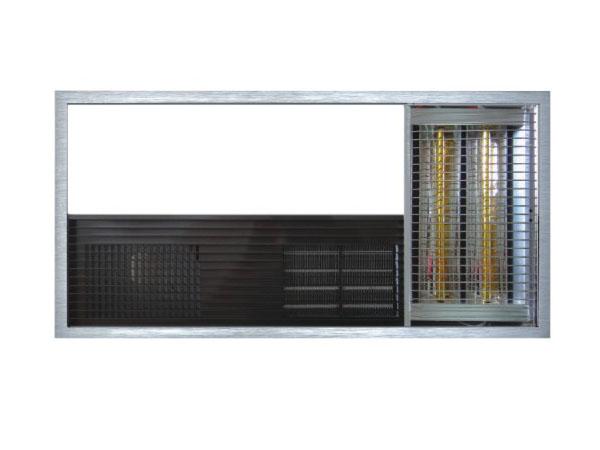 600F-10(3550W)金属PTC+吹风++LED照明+黄金管+换气