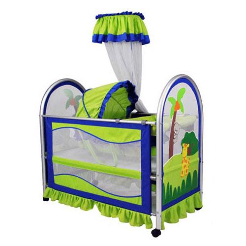 婴儿布艺床 9309-3