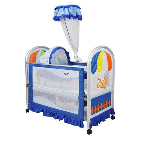 婴儿布艺床 9308