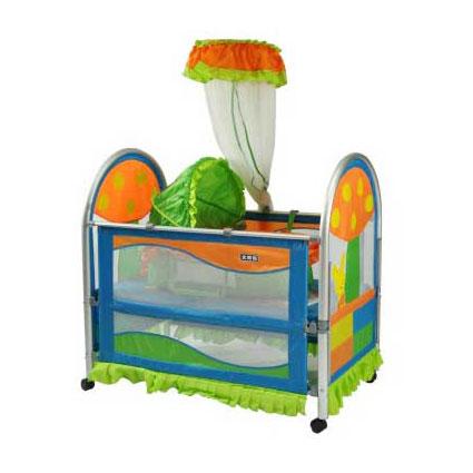 婴儿布艺床 9309-1