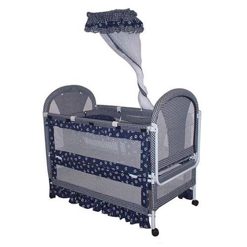 婴儿布艺床 9303-1