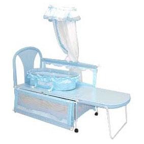 婴儿布艺床 9307