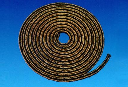 含石黑聚四氟乙烯纤维盘根
