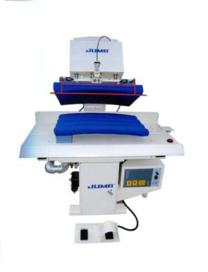 定型機分袖縫
