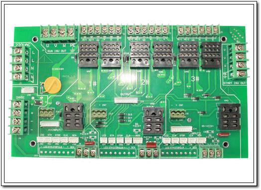 704络筒机1-3转接板(可软启动全接插式)