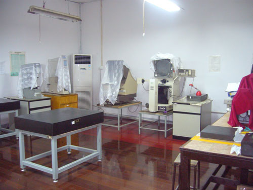 Projectors and Hardness Testing Room