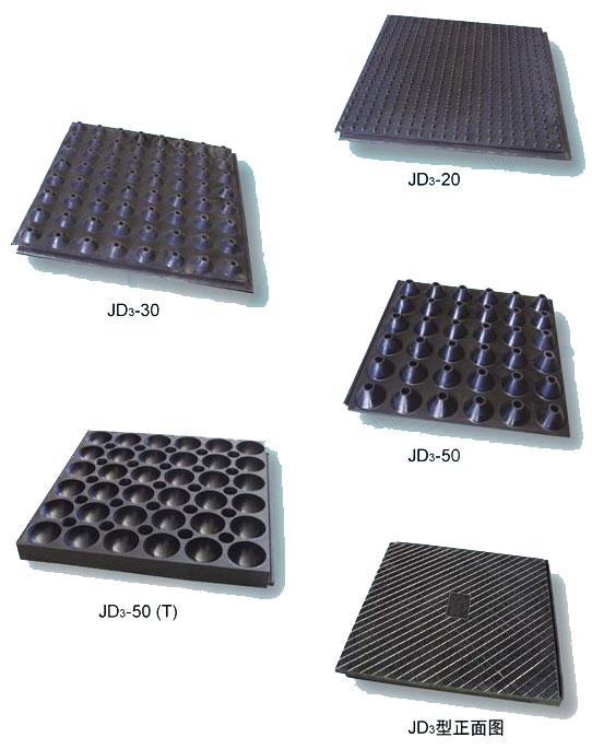 JD3型系列浮筑隔振隔音板实样图