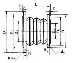 KYT型同心异径可曲挠橡胶接头