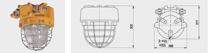 CFD2a(b) 船用防爆灯