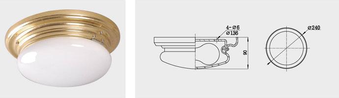 CPD1-B 单泡蓬顶灯