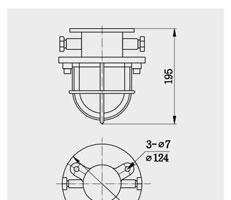 舱顶灯 CCD1-2