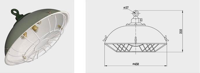 CGD3-1、CGD3-2 三泡(五泡)货仓灯