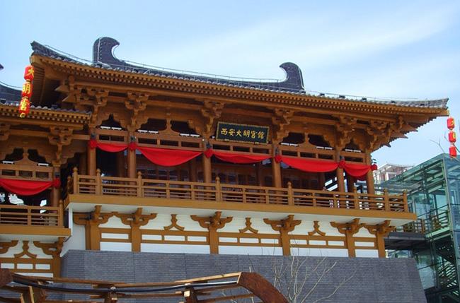 上海世博会西安馆大明宫