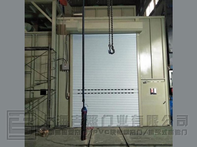 电动铝合金卷帘门 DD-04