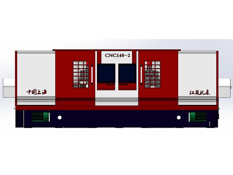 CNC140C-2型双主轴、双拖板数控螺纹车丝机