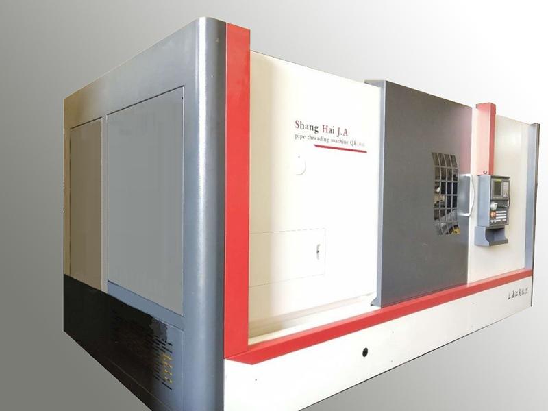 CNC508C数控管螺纹接箍车床