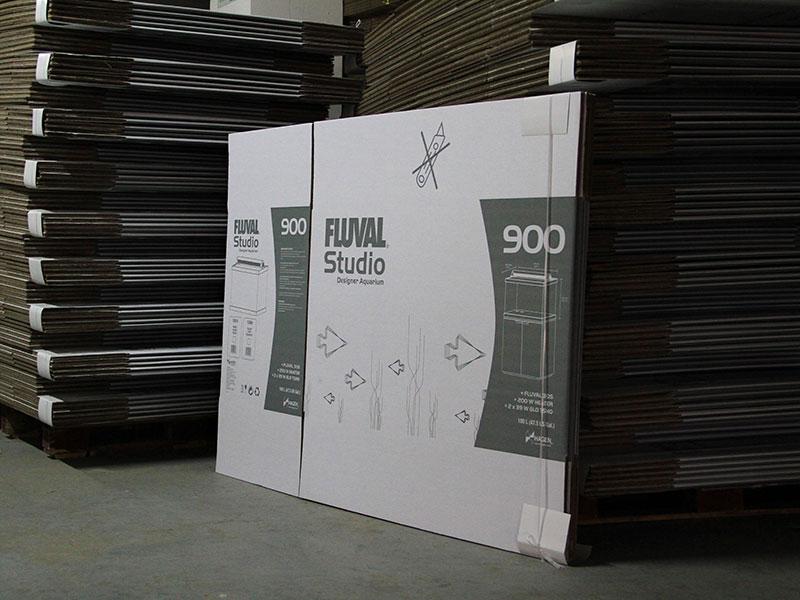 白卡鱼缸瓦楞纸箱