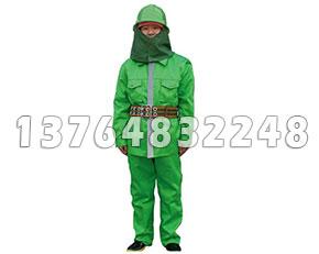 97款消防服装绿色
