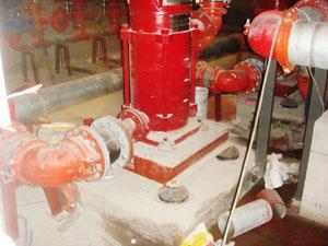 立式泵安装橡胶剪切隔振器