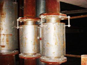管道使用WYB型外压式波纹补偿器
