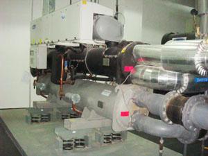 冷冻机使用BT3型弹簧减振器