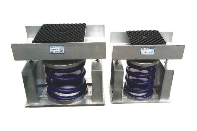 AT3、BT3、CT3、DT3型可调节水平弹簧减振器(限位式)